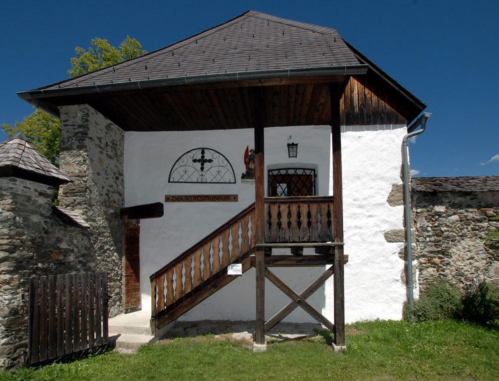 Dekanatsmuseum der Marktgemeinde Haus sakrale Kunst und